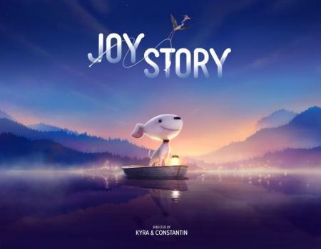 A Joy Story : Joy and Heron